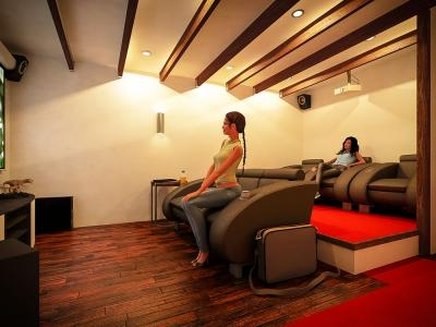 Man Cave Cinema Left W3.7m x D4.8m