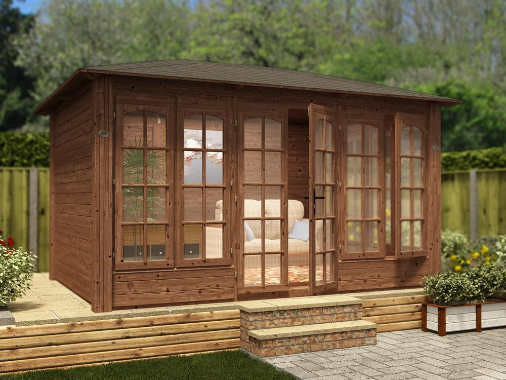 Summer home 28 images hartwood 7 x 5 sutton summer for Garden room 7m x 5m