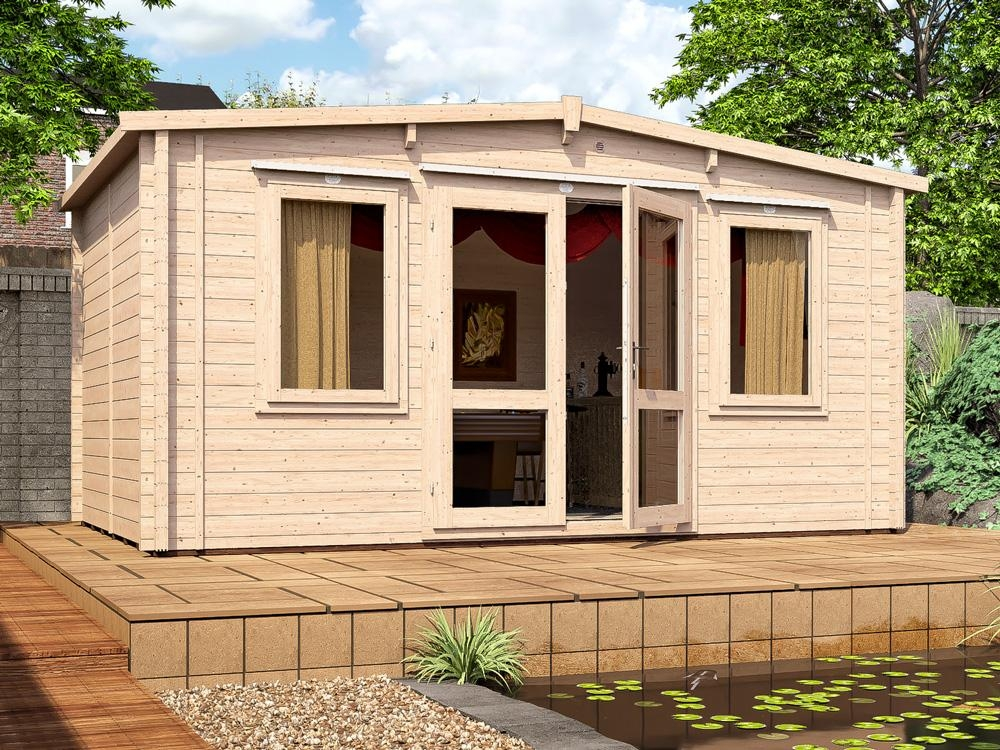 Severn INSULATED Log Cabin W4.8m x D3.0m