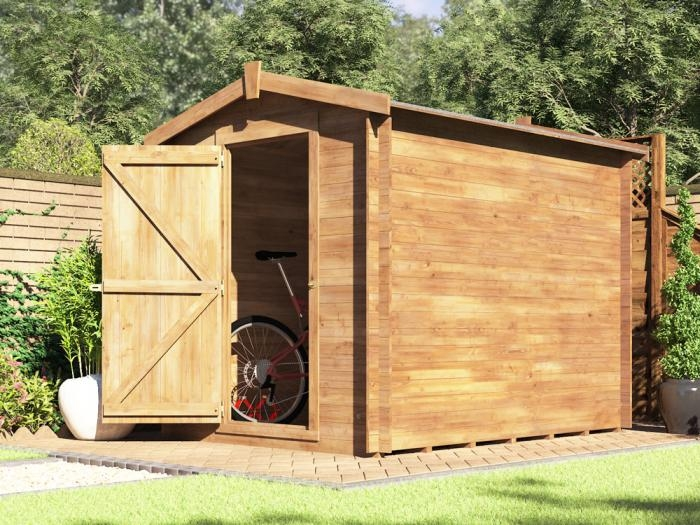 Taarmo Log Shed W1.8m x D2.4m   Sheds   Dunster House