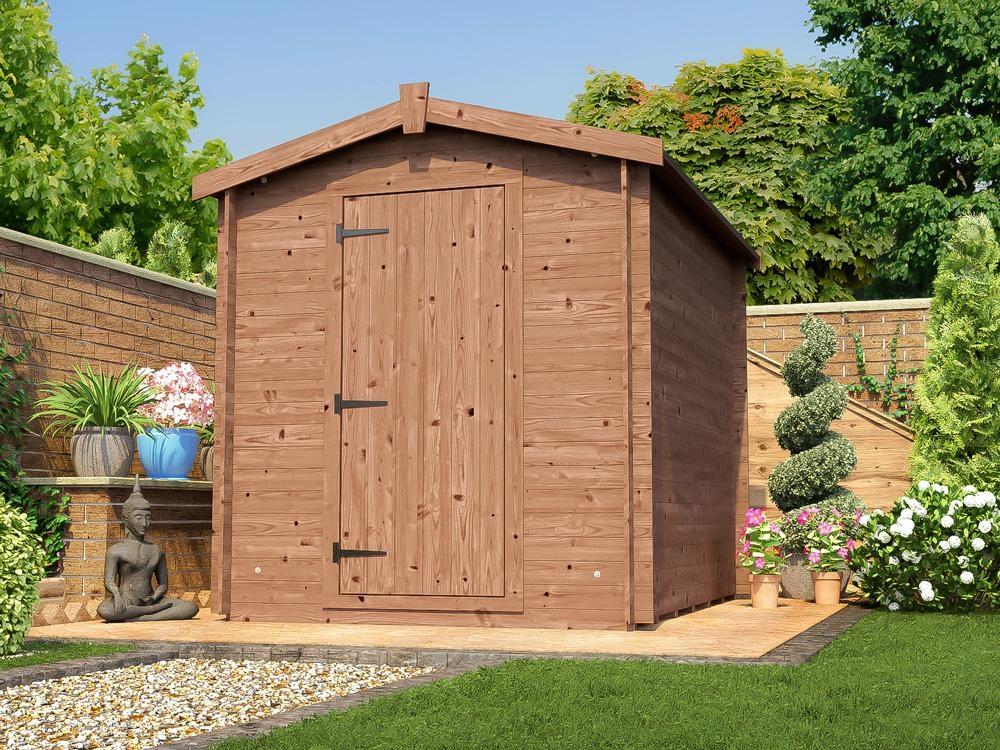 shed heavy duty log sheds kit cabin pent tools storage. Black Bedroom Furniture Sets. Home Design Ideas