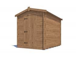 Taarmo Heavy Duty Log Shed W1.8m x D2.4m