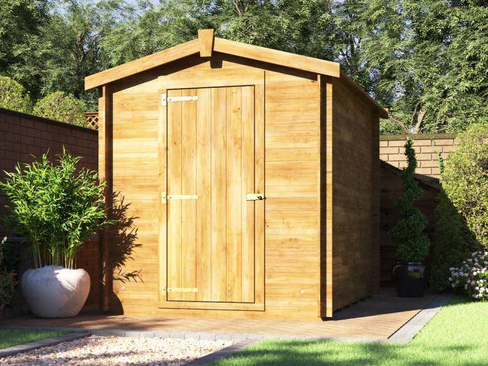 Taarmo Log Shed W1.8m x D2.4m | Sheds | Dunster House