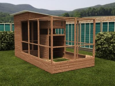 Rabbitopia With Shed W2.0m x D4.06m
