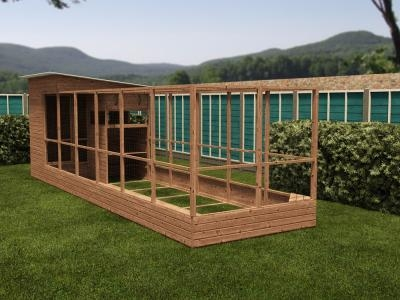 Rabbitopia With Shed W2.0m x D7.06m