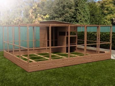 Rabbitopia With Shed W5.0m x D5.06m