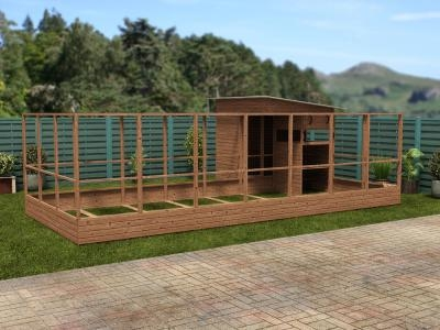Rabbitopia With Shed W7.0m x D4.06m