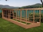 Rabbitopia With Shed W2.0m x D9.06m