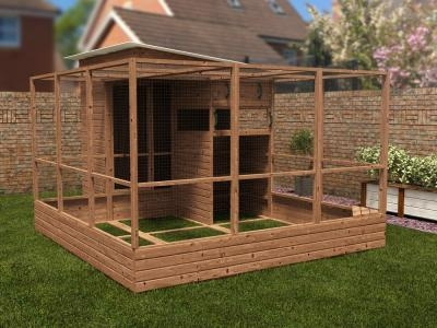Rabbitopia With Shed W3.0m x D4.06m