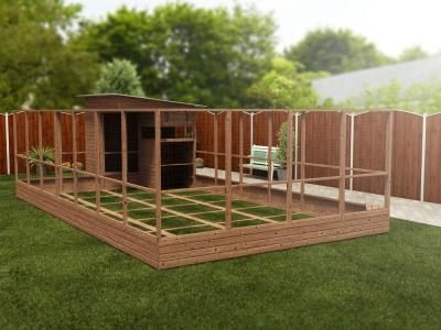 Rabbitopia With Shed W4.0m x D8.06m