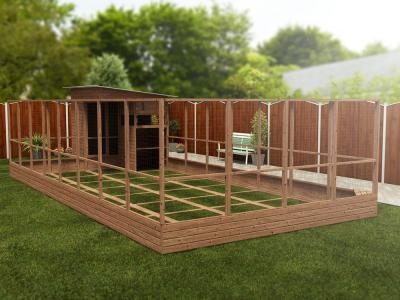 Rabbitopia With Shed W4.0m x D9.06