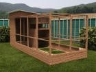 Rabbitopia With Shed W2.0m x D5.06m