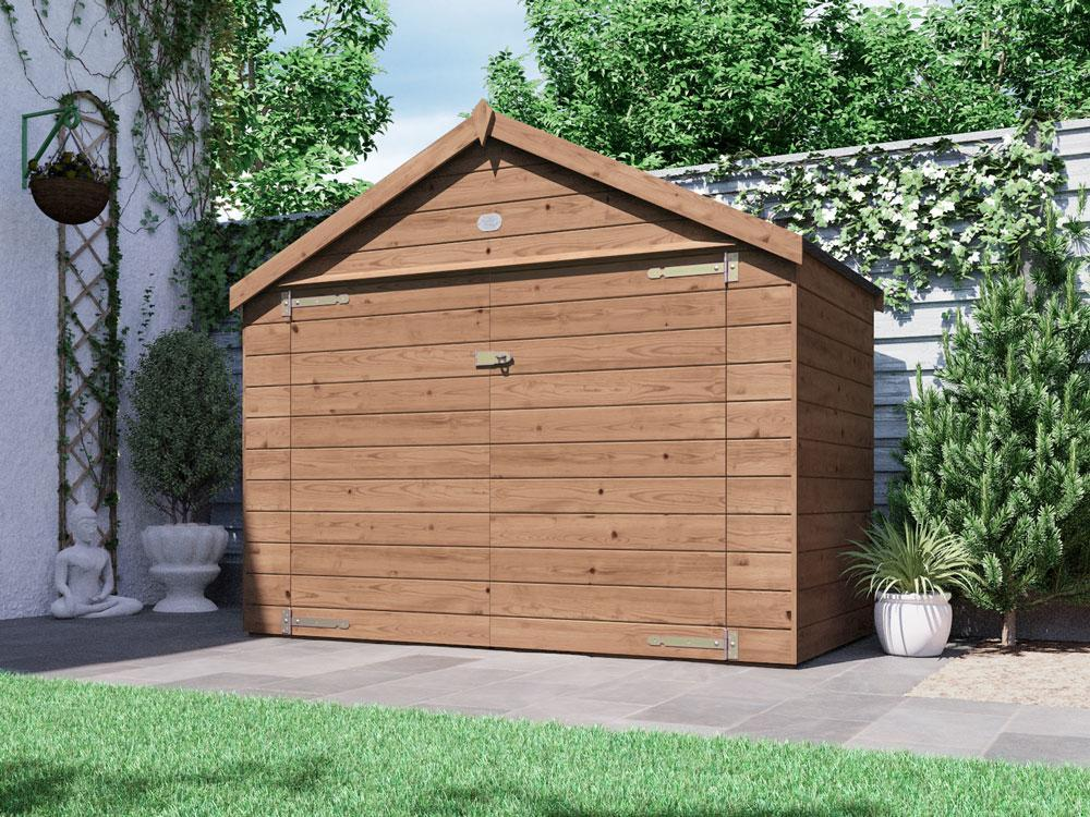 Ariane Heavy Duty Bike Shed/ Mower Storage | Sheds & Storage
