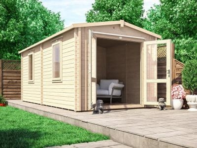 Avon INSULATED Log Cabin