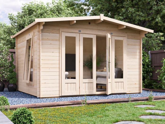 BattleClaw Log Cabin W3.8m x D3.2m | Log Cabins
