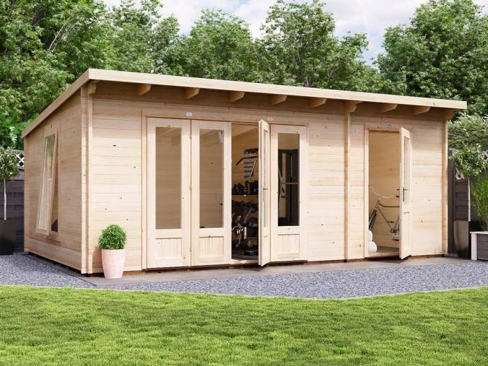 BundleDuck Log Cabin W5.9m x D3.8m | Log Cabins