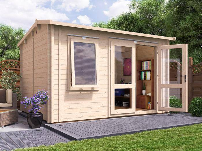 Carsare INSULATED Log Cabin | Warmalog Cabins
