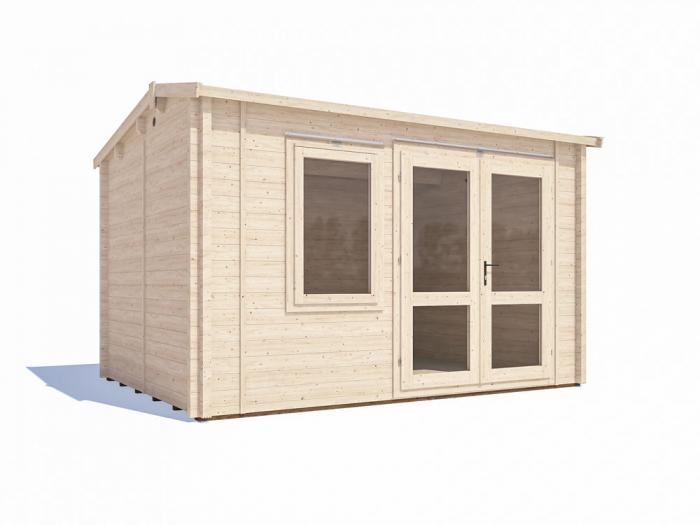 Carsare INSULATED Log Cabin W3.8m x D2.8m