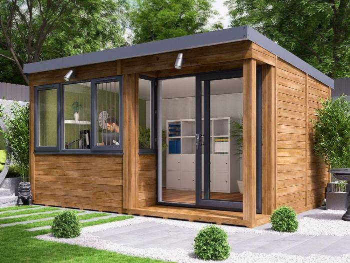 Helena Garden Office - Right | Garden Offices
