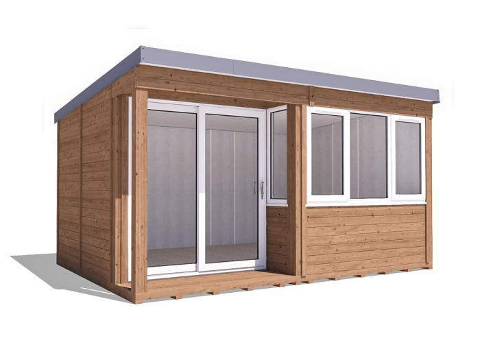 Helena Garden Office - Left W4.3m x D3.3m