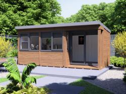 Helena Garden Office - Right W5.4m x D2.7m
