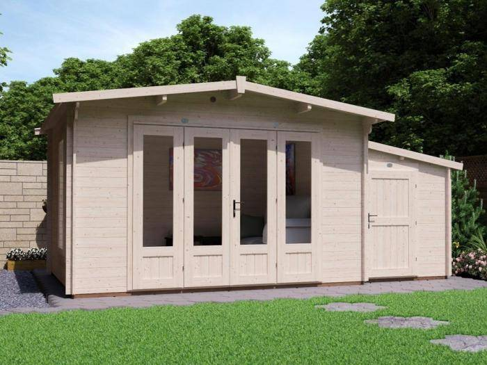 HuggaBear SideStore Log Cabin | Log Cabins