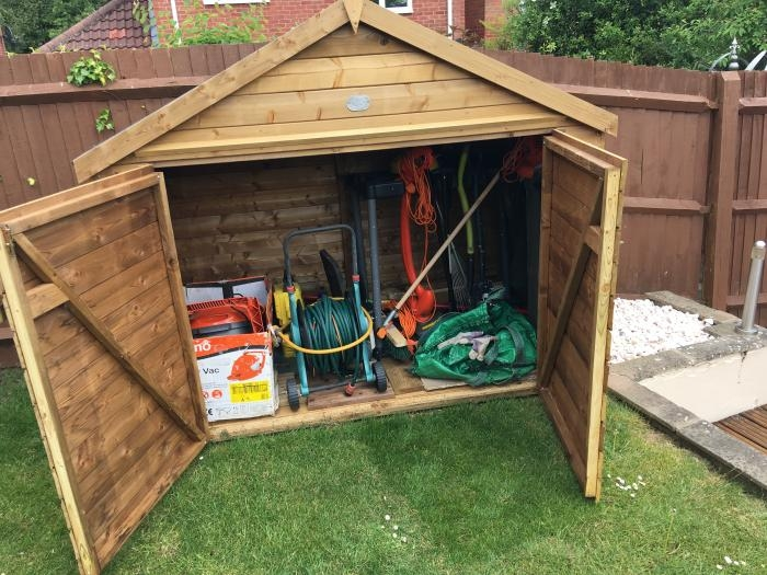 Ariane Heavy Duty Bike Shed/ Mower Storage
