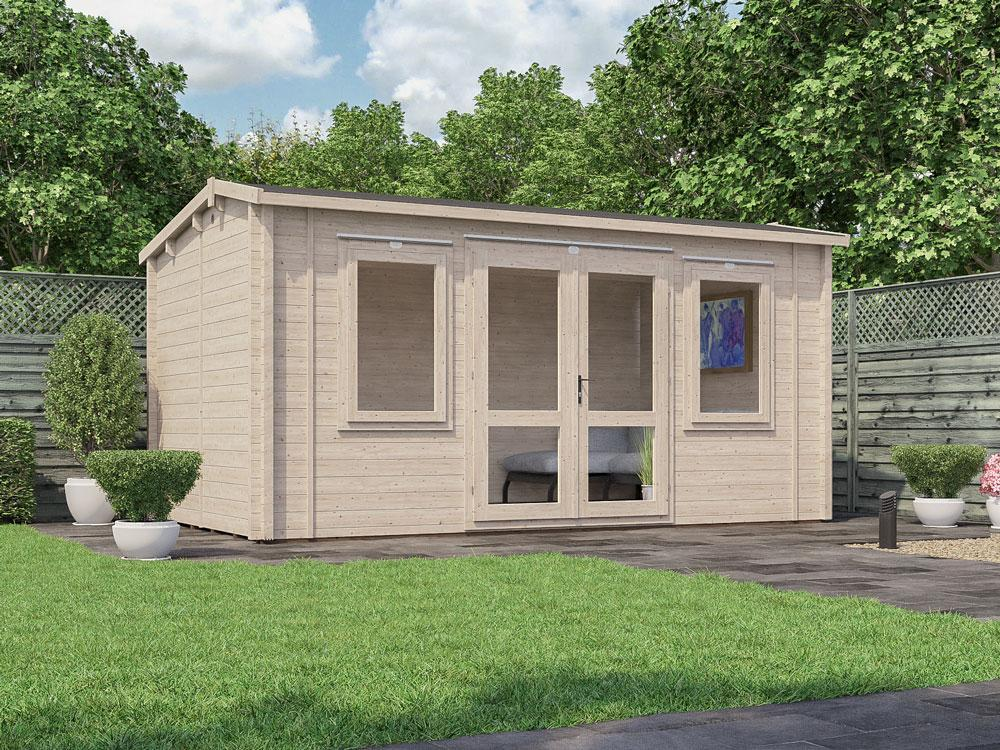 Lantera INSULATED Log Cabin W4.8m x D3.8m  Warmalog