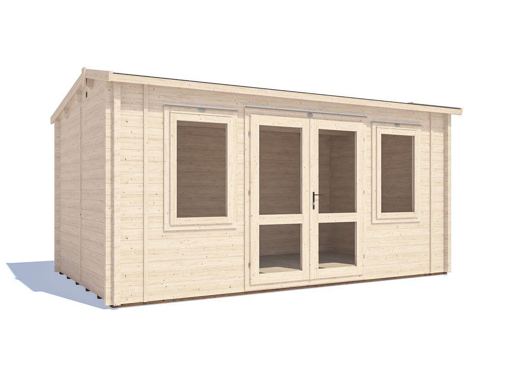 Lantera INSULATED Log Cabin W4.8m x D3.8m