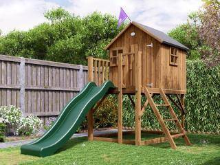 Wooden Climbing Frames Playhouses For Sale Dunster House