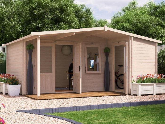 MissionPunchForce Multi Room Log Cabin  | Log Cabins