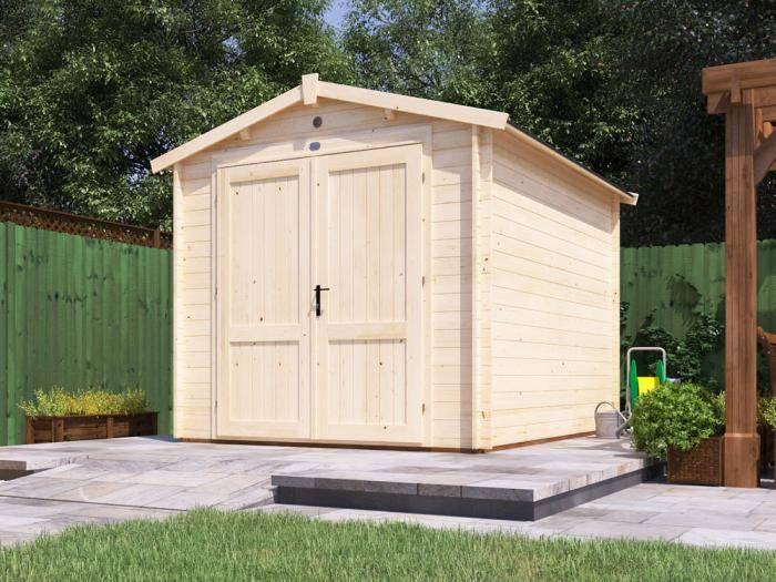 Petrus Log Cabin Workshop W2.5m x D3.0m | Wooden Shed