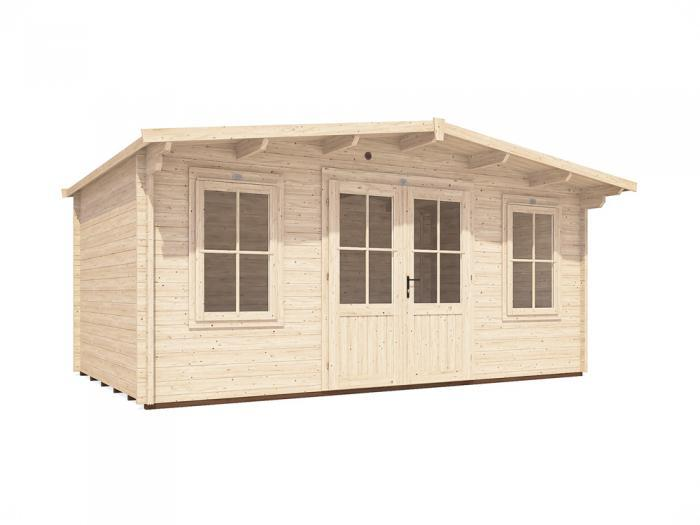 Severn Log Cabin W5.0m x D3.0m