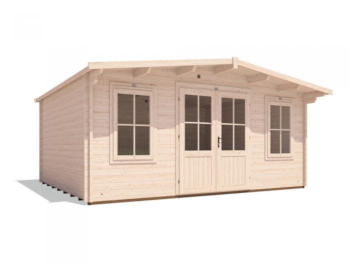 Clearance Severn Log Cabin W5.0m x D4.0m