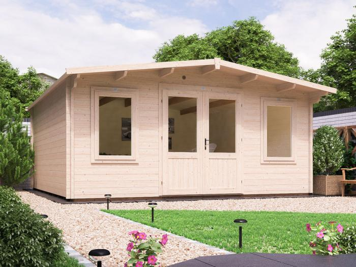 Clearance Severn Log Cabin W5.0m x D5.0m