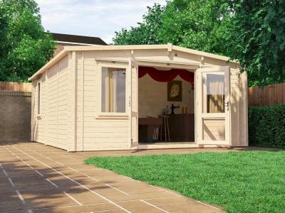 Severn INSULATED Log Cabin | Warmalog Cabins