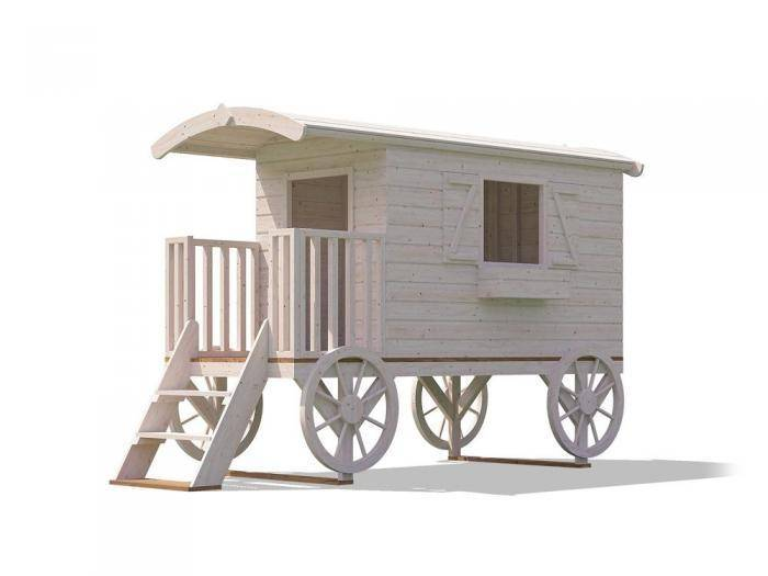 Spiel Child`s Shepherds Hut | Climbing Frames