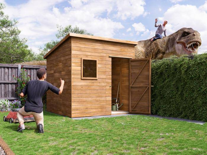 ThunderRoof Harry Heavy Duty Pressure Treated Shed | Sheds & Storage