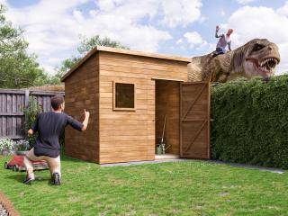 ThunderRoof Harry Heavy Duty Pressure Treated Shed
