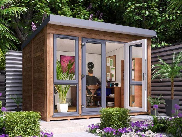 Titania Garden Office W3.3m x D2.7m | Garden Offices