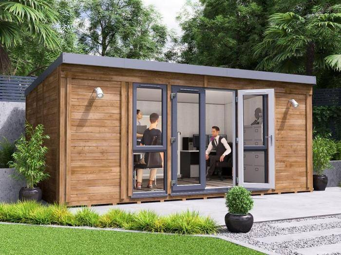 Titania Garden Office W5.4m x D3.3m | Garden Offices