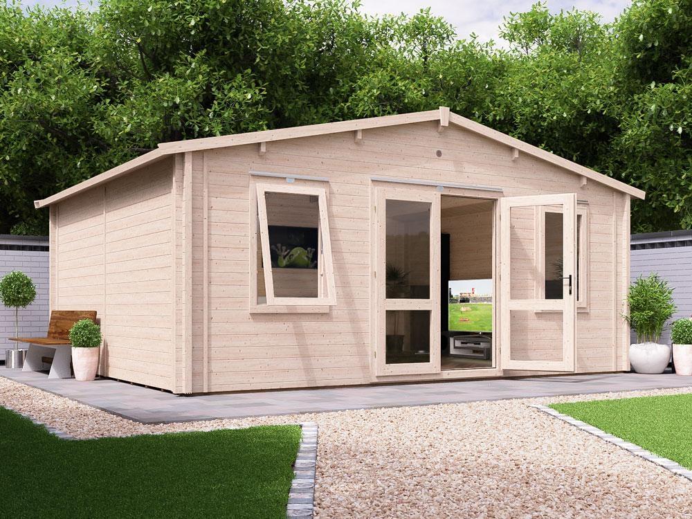 Vanguard INSULATED Log Cabin | Warmalog Cabins