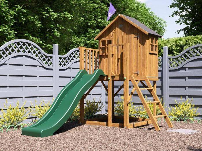 Lil Lodge Playhouse MKII | Climbing Frames