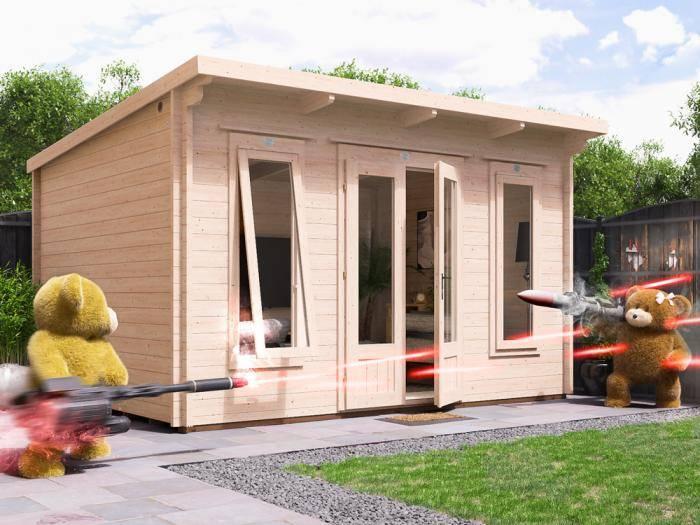 Terminator Log Cabin W4m x D3m | Log Cabins | Dunster House