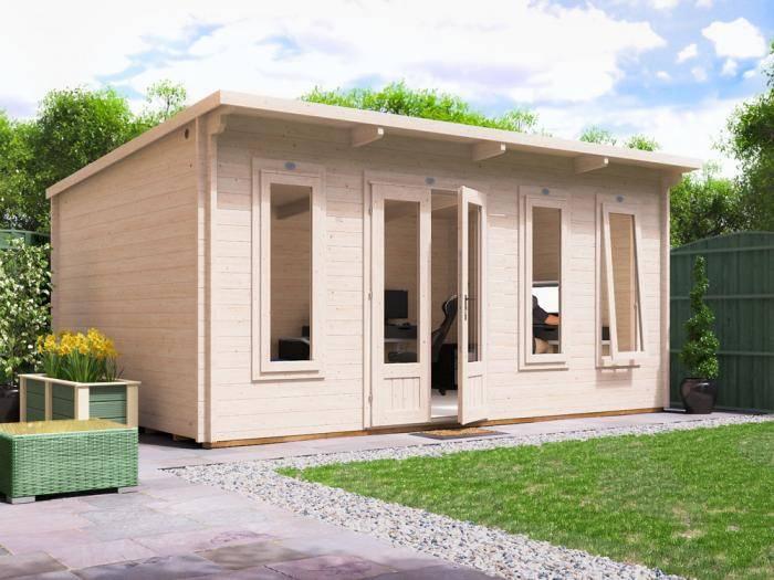 Terminator Log Cabin W5.0m x D3.5m | Log Cabins | Dunster House