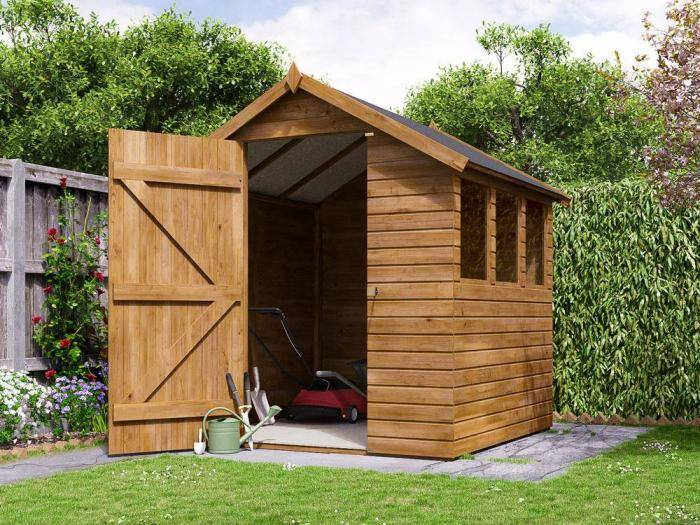 Adam Pressure Treated Shed    Dunster House