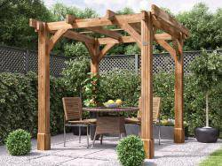 Atlas Wooden Pergola