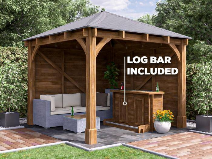 Atlas Garden Bar Gazebo is a growing trend - Get yours here