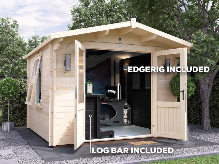 Avon Man Cave Log Cabin W3.0m x D3.0m | Dunster House