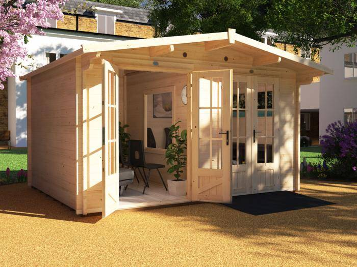 Care Home Visiting Pod Cabin W4.0m x D3.0m | Dunster House